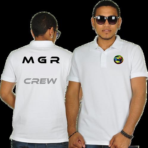 MGR - MGR -100% Cotton Polo Neck Tee-Shirt