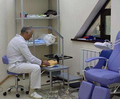 изготовление индивидуальных ортопедичекх стелек, 3D моделирование стопы