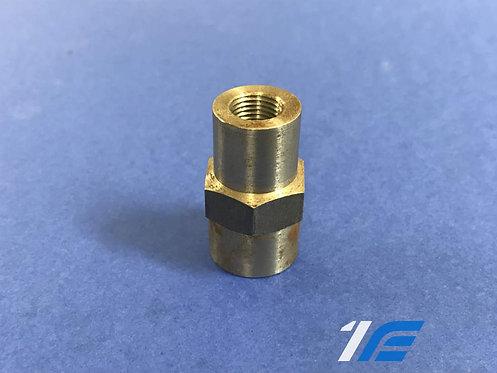 Adaptateur sonde pression huile sur chassis m14 x 1.5/M10x1 moteur 1400cc K4