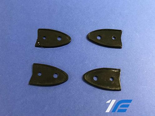 Joints caoutchouc charnière de capot arrière Alpine A110