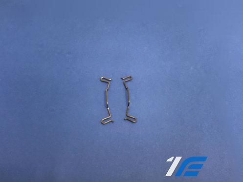 Paire ressorts anti-vibration étrier arrière Alpine A110