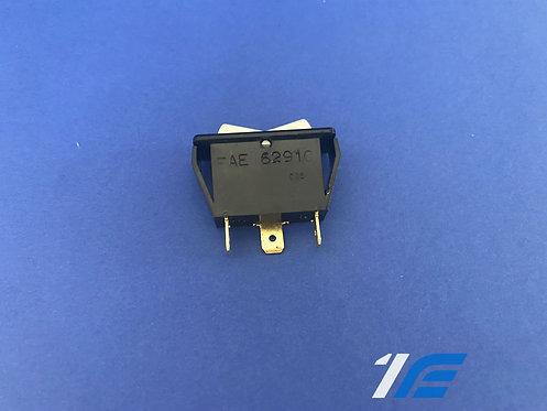 Interrupteur rectangulaire bouton gris 2 positions Alpine A110