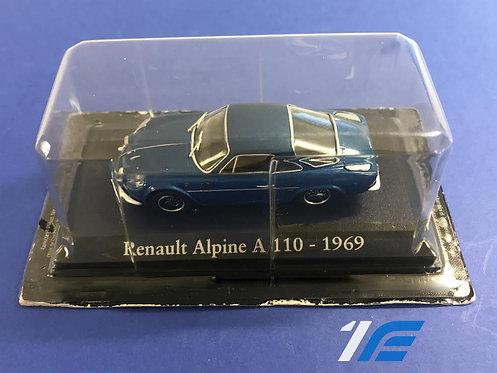 Maquette Renault Alpine A110 - 1969 1/43