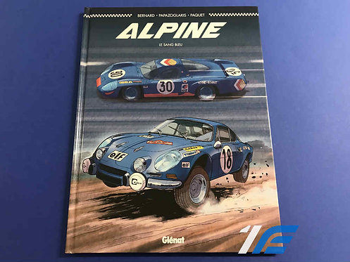 Alpine Le Sang Bleu Glénat (F)