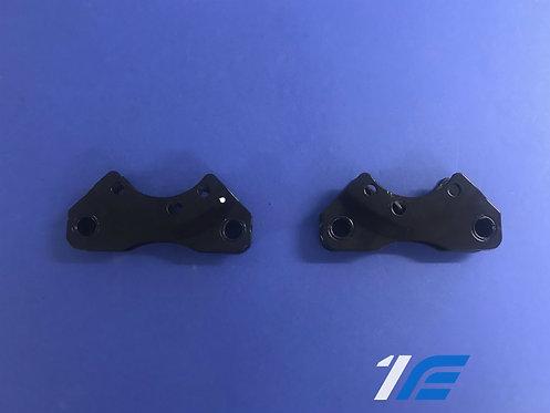 Platines  pour montage gros freins type R16 Alpine A110