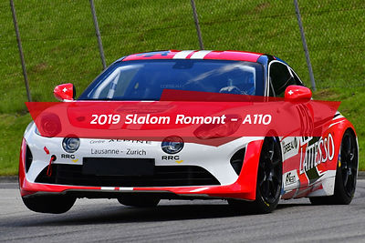 A110 slalom romont
