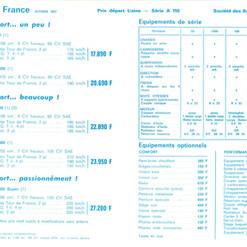 Tarif A110 France 10.1967 P2.jpg