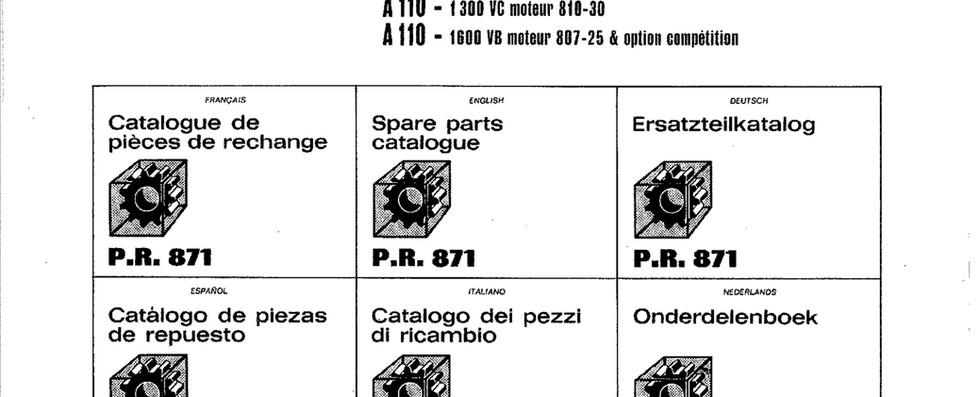 PR871 Alpine A110 page 2