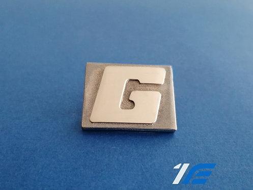 "Sigle d'aile chromé ""G"" Alpine A110"