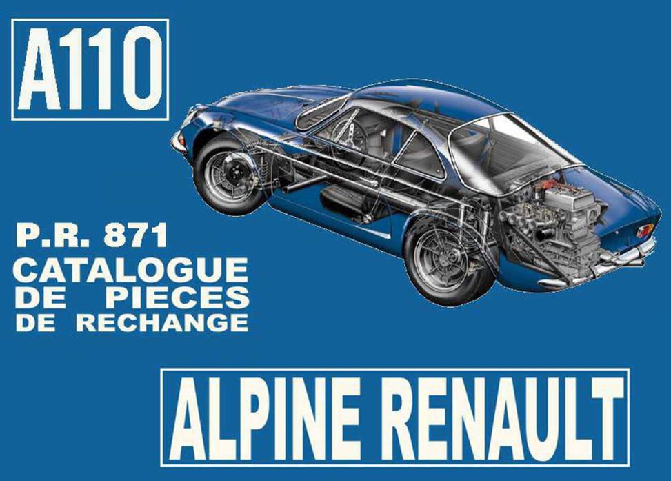 PR871 Alpine A110 page 1