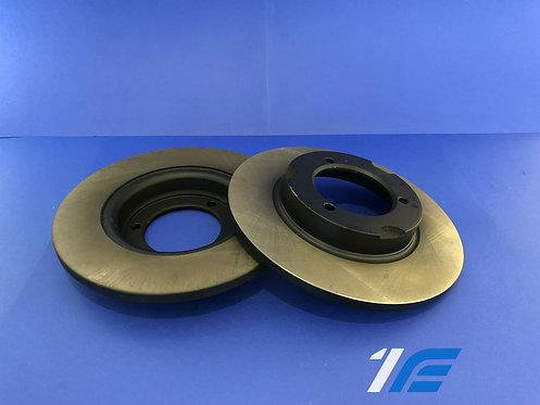 Paire disques gros freins AV/AR 12 mm Alpine A110