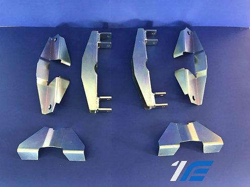 Kit 6 pces transformation traverse arrière 4 amort. Alpine A110