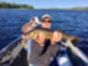 Catch big Walleye at Sabourin