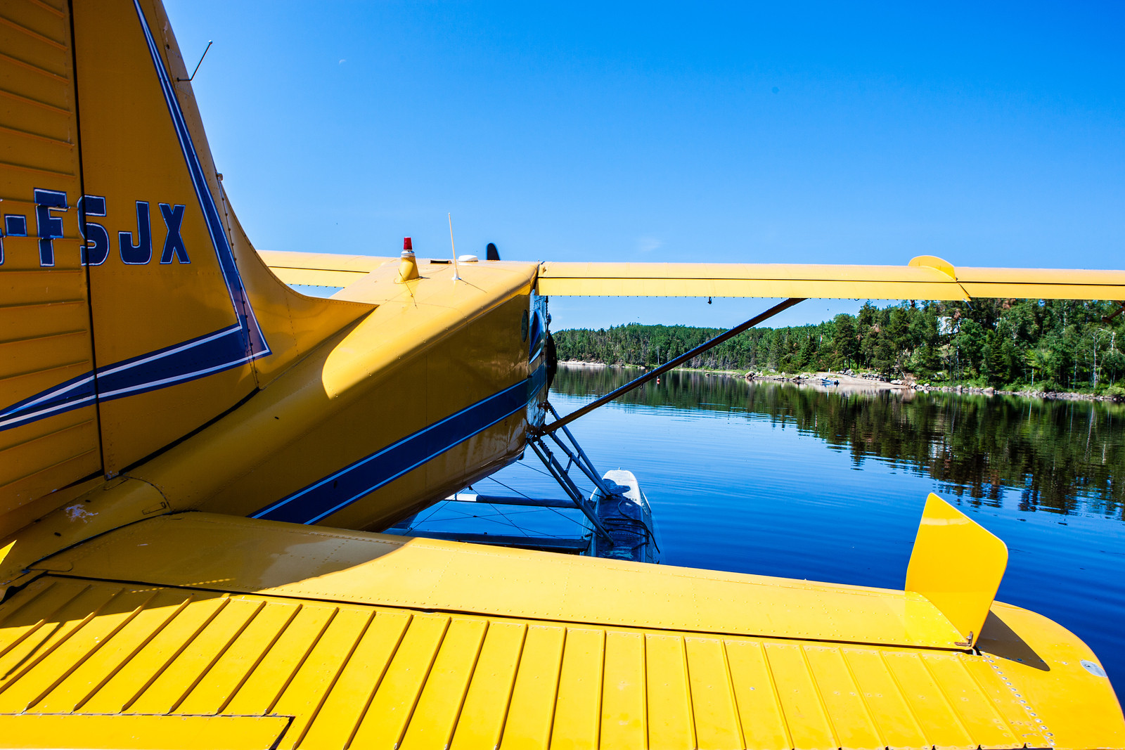 Float Plane on the Lake