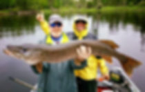 Catch big Northern Pike in Sabouin