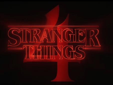 Filmagens da 4ª temporada de Stranger Things são retomadas!