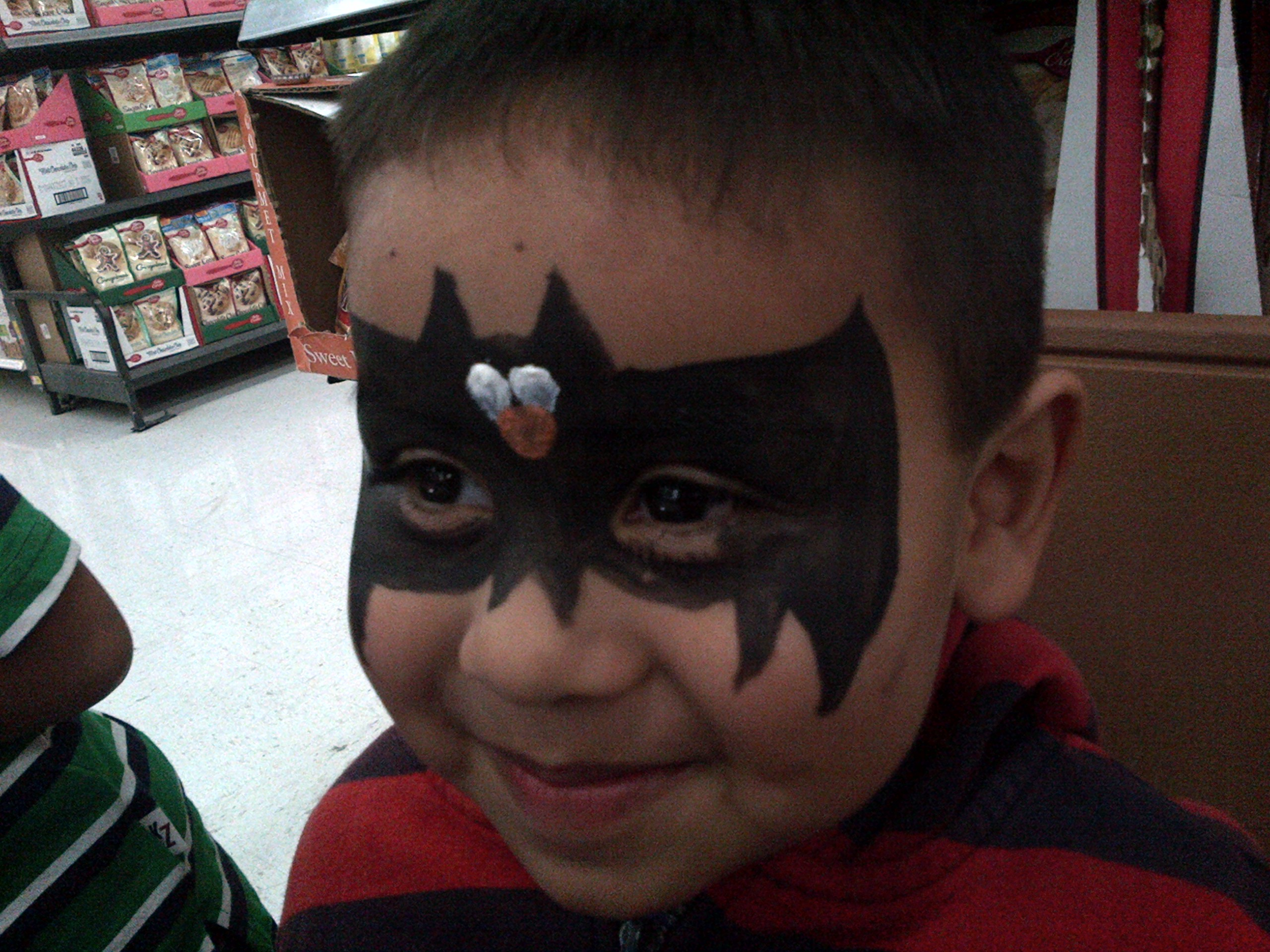 Face Painting Bat