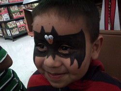 Face Painting Bat