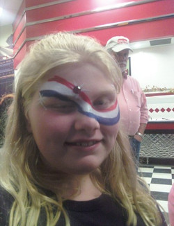 Face Painting: American Pride