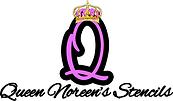 Queen Noreens Stencils Logo Smaller.png