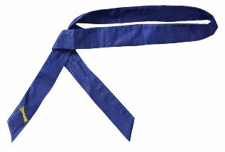 OccuNomix Navy Blue Miracool  Cotton Headb & With Tie Closure