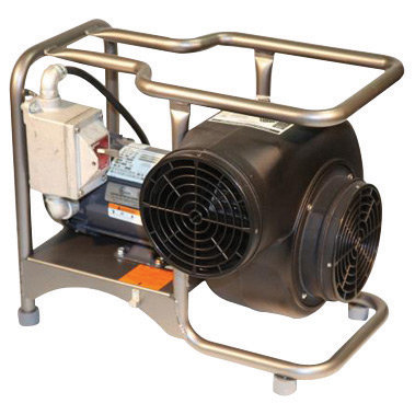 """ASI Saddle Vent 8"""" 1570 cfm 3/4 hp 115 VAC Explosion Proof Electrical Blower"""