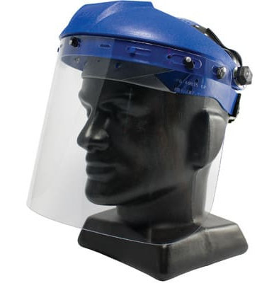 IN STOCK!!! Premium Head Gear With PETG Faceshield Combo