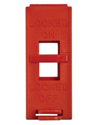 Brady Red Poly Wall Switch Lockut