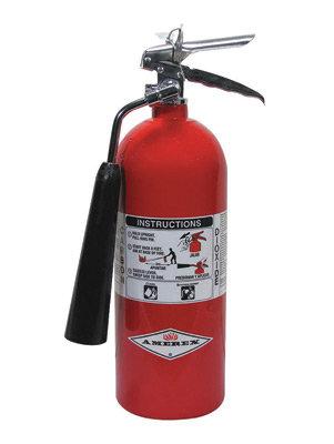 Amerex  5 # Stored Pressure Carbon Dioxide 5-B:C Fire Extinguisher