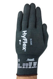 Ansell Sz 6 HyFlex Cut Resistant Gloves With Nitrile Coated Palm