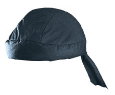 OccuNomix Navy Blue Miracool  Cotton Hat With Tie Closure