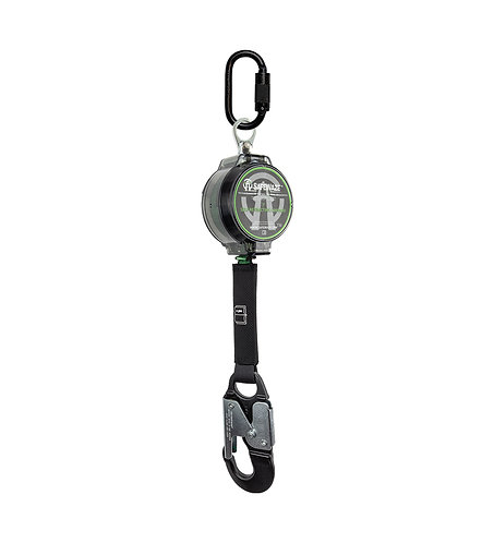 7' Web Retractable with Aluminum Snap Hook
