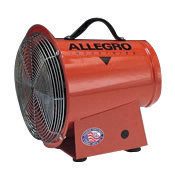 "Allegro 14"" X 13 5/8"" X 15"" 1150 cfm 1/4 hp 12 VDC 22 A Motor Axial Blower"