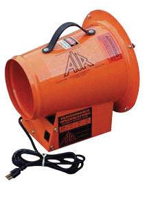 """ASI 8"""" 1395 cfm 1/6 hp 12 VDC 13 A Lightweight Axial Fan"""