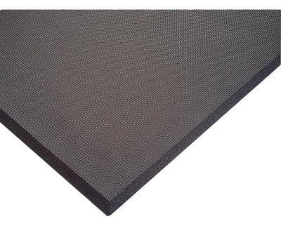 "NoTrax 3' X 6' Black 5/8"" Thick PVC Nitrile Foam Superfoam"