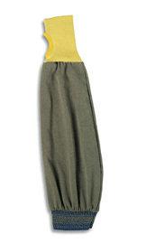 "Ansell 22"" Brown Light Weight Kevlar  FR Sleeve w/ Kevlar  Cuff"