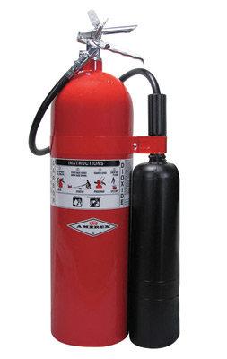 Amerex  20 # Stored Pressure Carbon Dioxide 10-B:C Fire Extinguisher