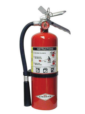 Amerex  5 # Stored Pressure ABC Dry Chemical 2A:10B:C  Fire Extinguisher