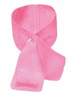 "OccuNomix 31 1/2"" X 4"" Pink Miracool  Light Weight Cooling Neck Wrap"