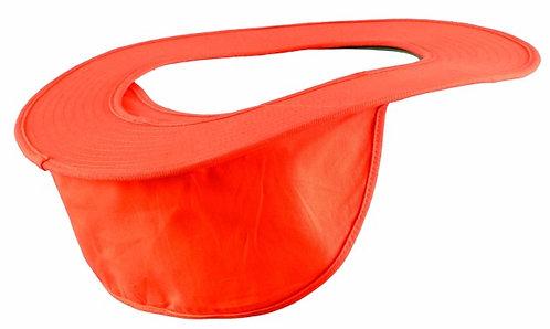 OccuNomix Orange Cotton Hard Hat Shade