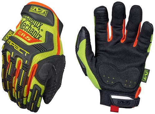 Mechanix Wear Small Black, Hi-Viz Green And Orange