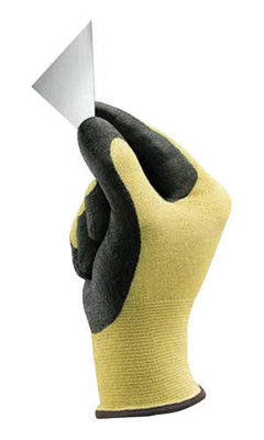 Ansell Sz 6 HyFlex 11-5 Light Duty Cut Resistant Black Foam Nitrile Gloves