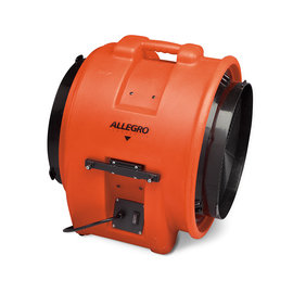 "Allegro 20"" X 22 1/2"" X 22 1/2"" 3200 cfm 115 VAC Axial Blower With 16"" Duct"