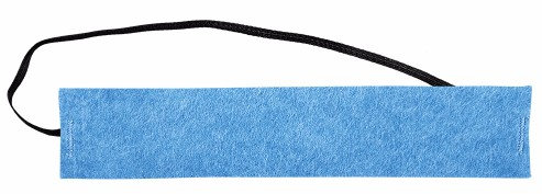 OccuNomix Blue 100% Polyester Original Soft Disposable Sweatband