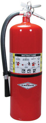 Amerex  20 # Stored Pressure ABC Dry Chemical 10A:120B:C  Fire Extinguisher