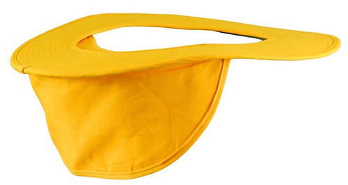 OccuNomix Yellow Cotton Hard Hat Shade