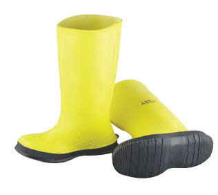"Onguard Industries Size 11 Slicker Yellow 17"" PVC  Overboots"