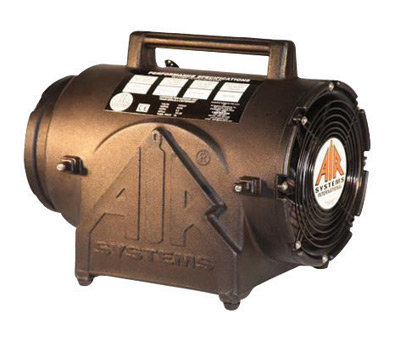 "ASI 8"" 974 cfm 1/4 hp 115 Vac 60 Hz  Ventilation Fan"