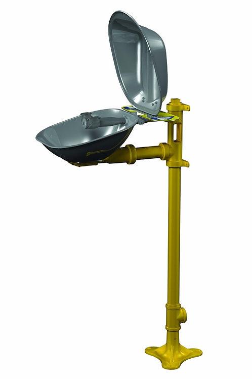 Bradley Halo Pedestal Mounted Eye Wash Station