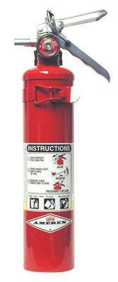 Amerex  2.5 # Stored Pressure ABC Dry Chemical 1A:10B:C  Fire Extinguisher